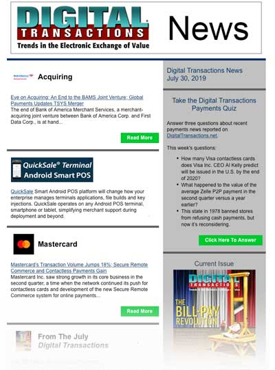 Daily Newsletters – Digital Transactions